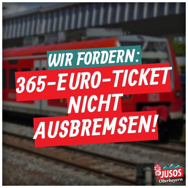 365-EURO-TICKET NICHT AUSBREMSEN!
