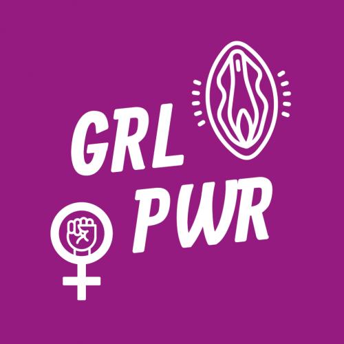 Feministischer-März-Sticker-GRLPWR-1-1024x1024